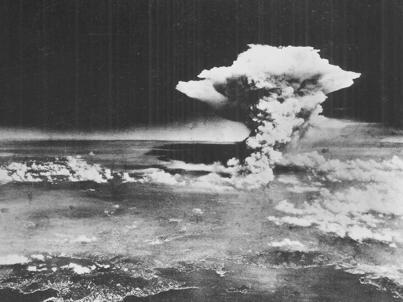 hiroshima bomb explosion